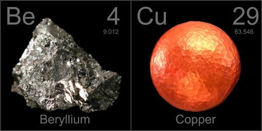 Beryllium copper be cu manufacturing compay inc