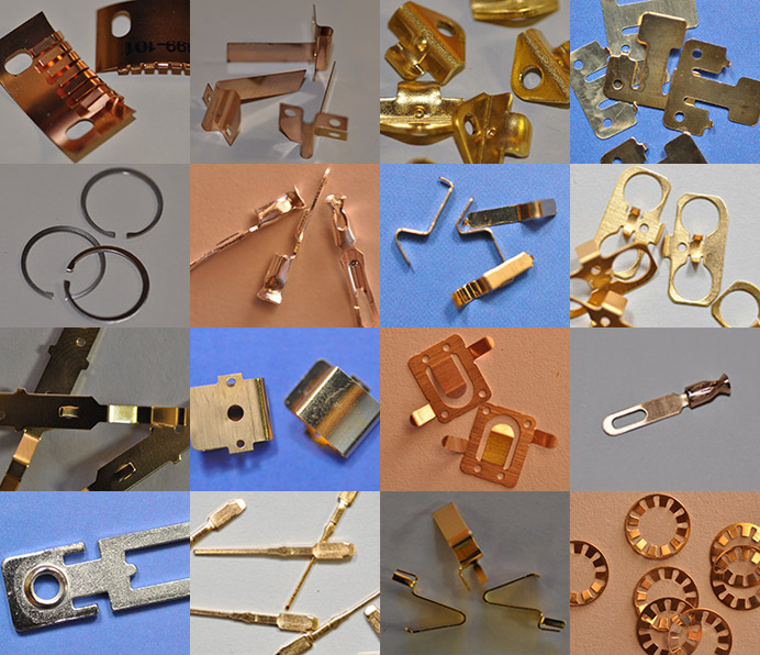 Gold Plating Services, Be Cu products